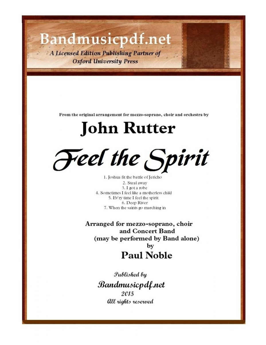 Feel the Spirit (Complete) - cliquer ici