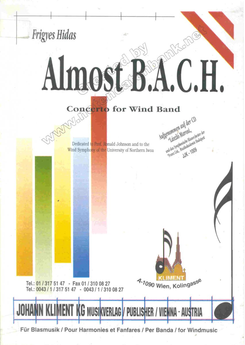 Almost B.A.C.H. - cliquer ici